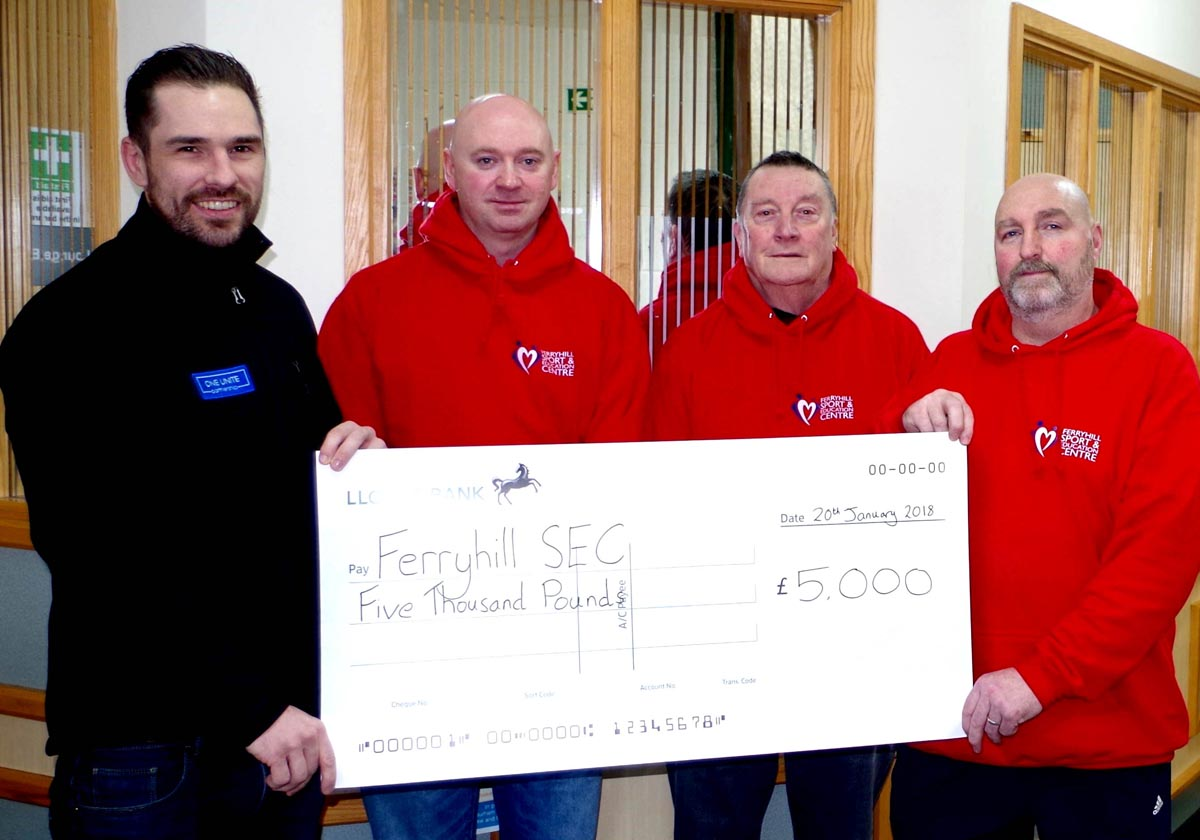 Aycliffe Entrepreneur Gives £5000 Back to Community