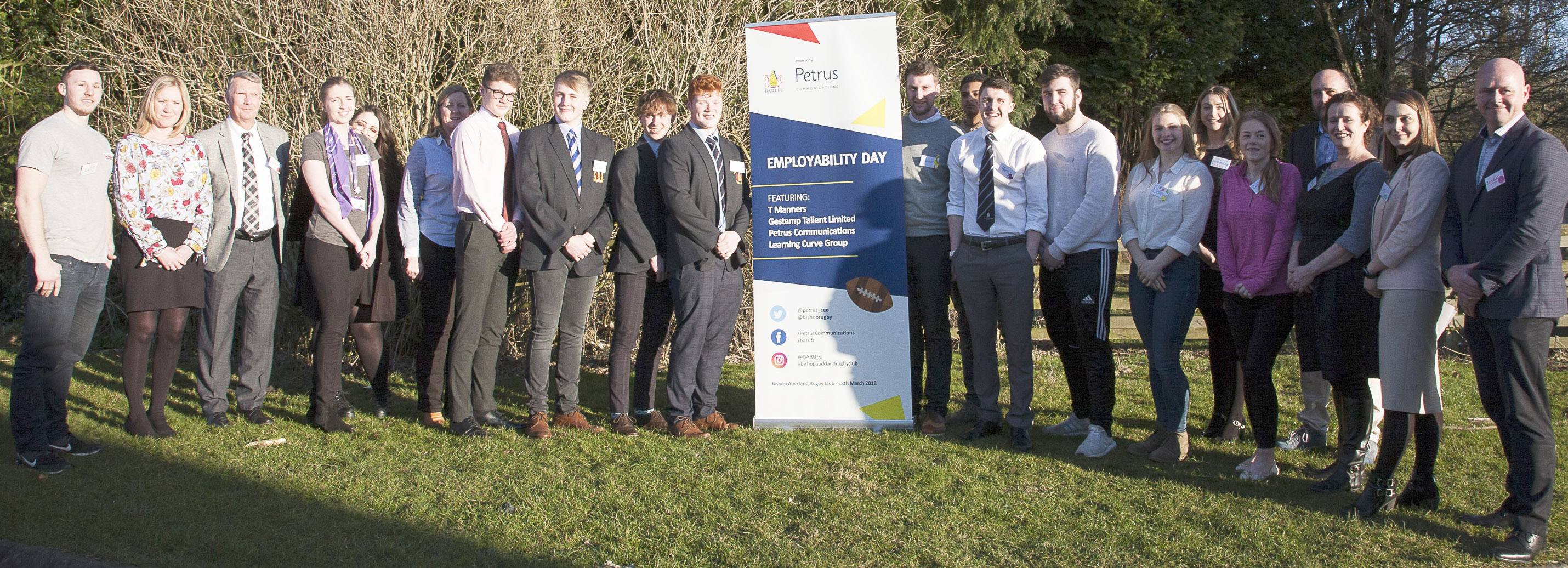 Employability Day for Rugby Junior Players