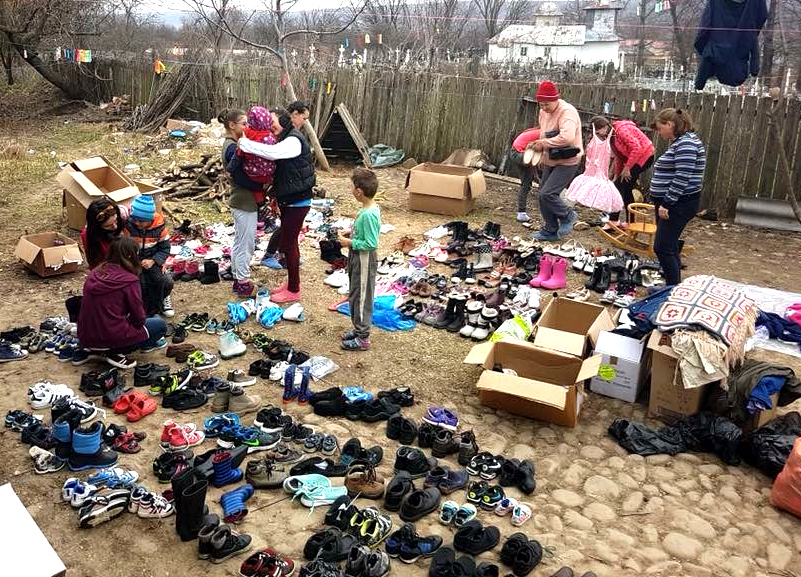 Newtonians Send Easter Gifts to Romanian Poor