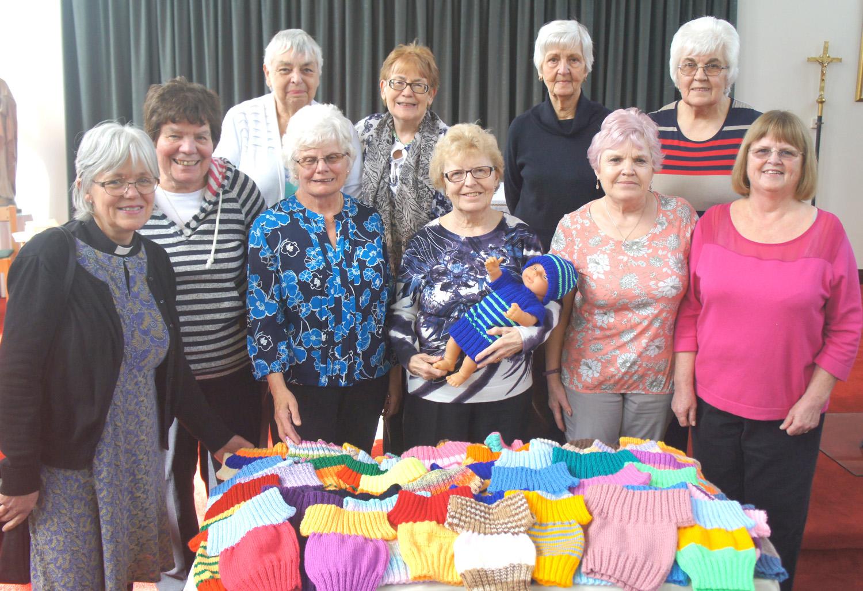 Knitters Help Zambia Project
