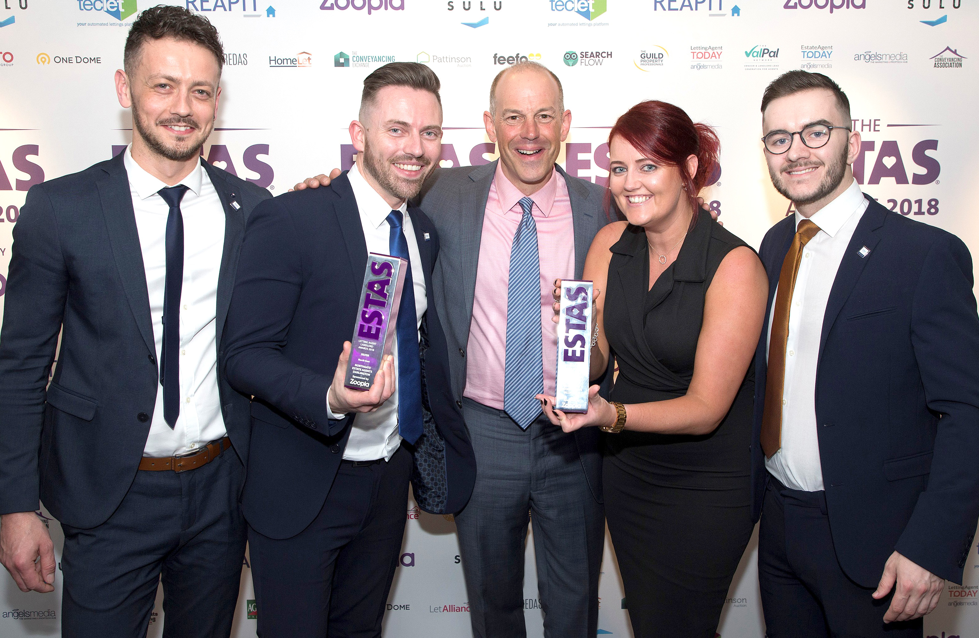 Award for Aycliffe Estate Agents