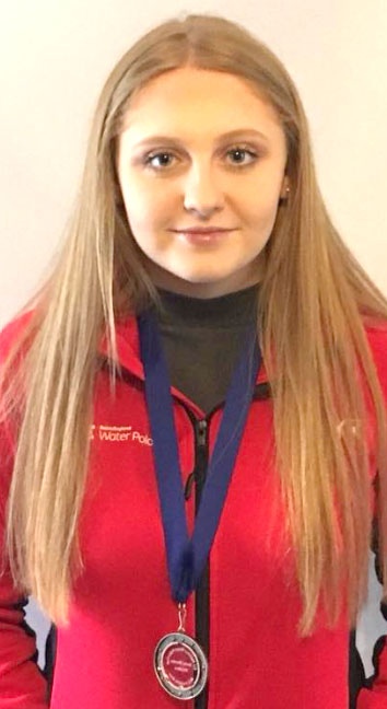 Bronze Medal for England Polo Player