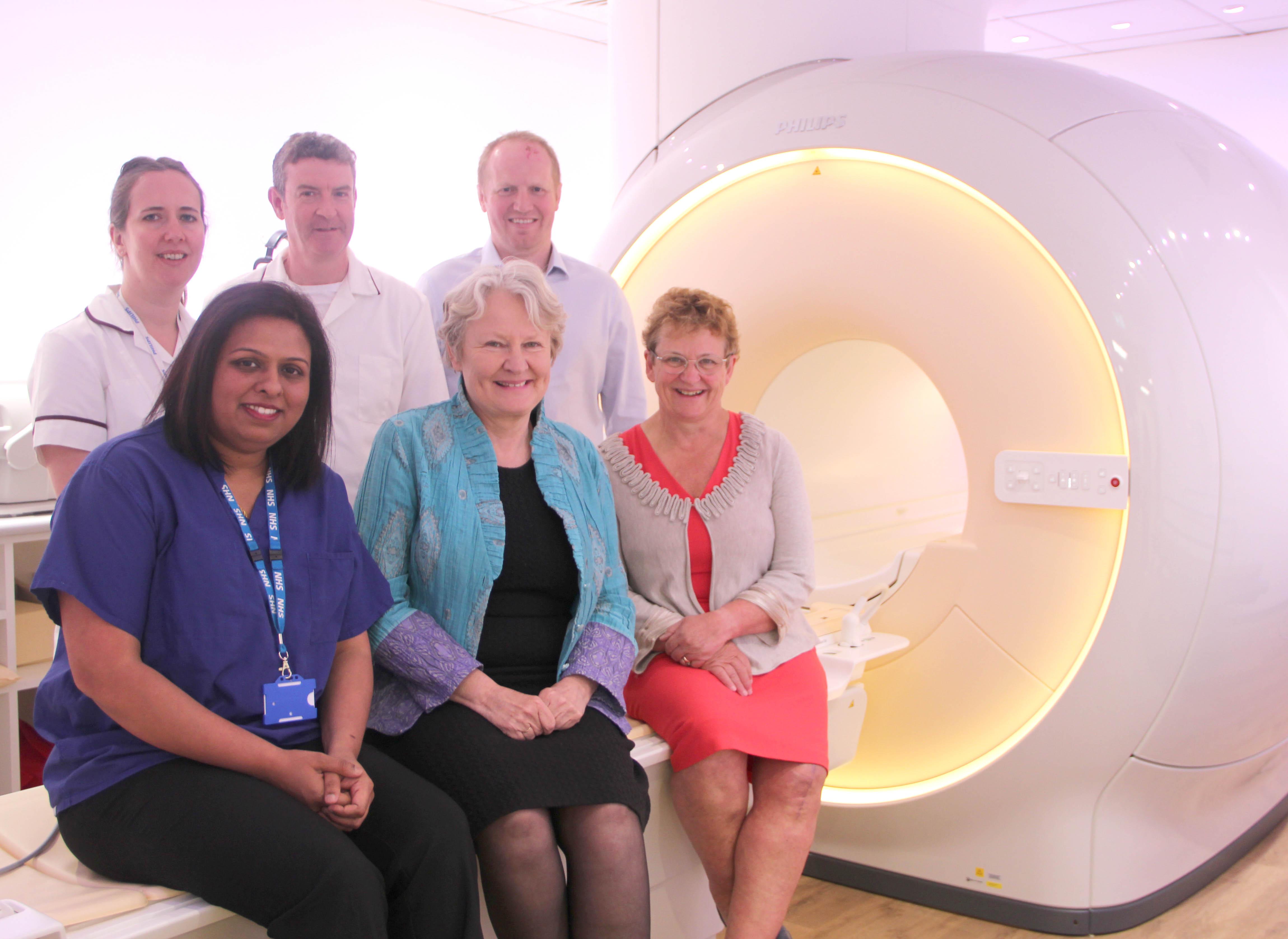 MP Visits New MRI Scanner Unit at Bishop Auckland
