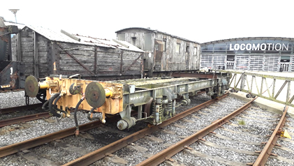Freight Vehicle Donated to Shildon Locomotion Museum