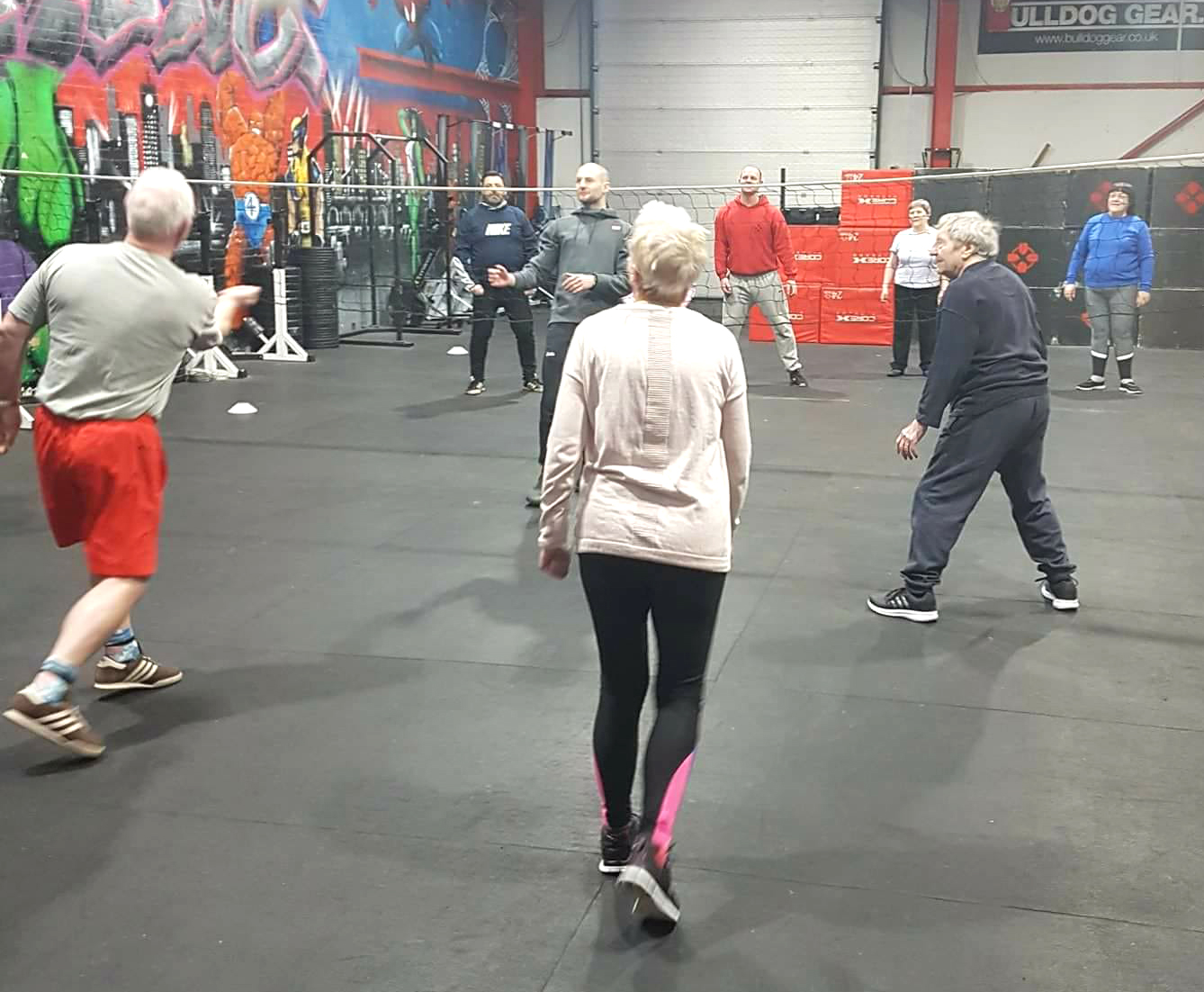 Gym Classes for Over 50's in Aycliffe