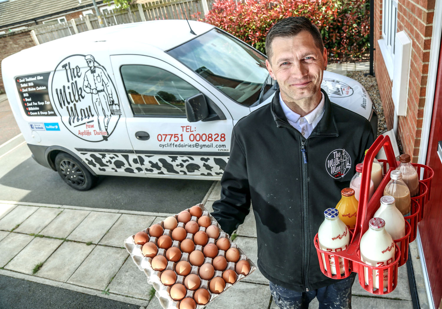 Traditional Milk Service Takes Off in Aycliffe