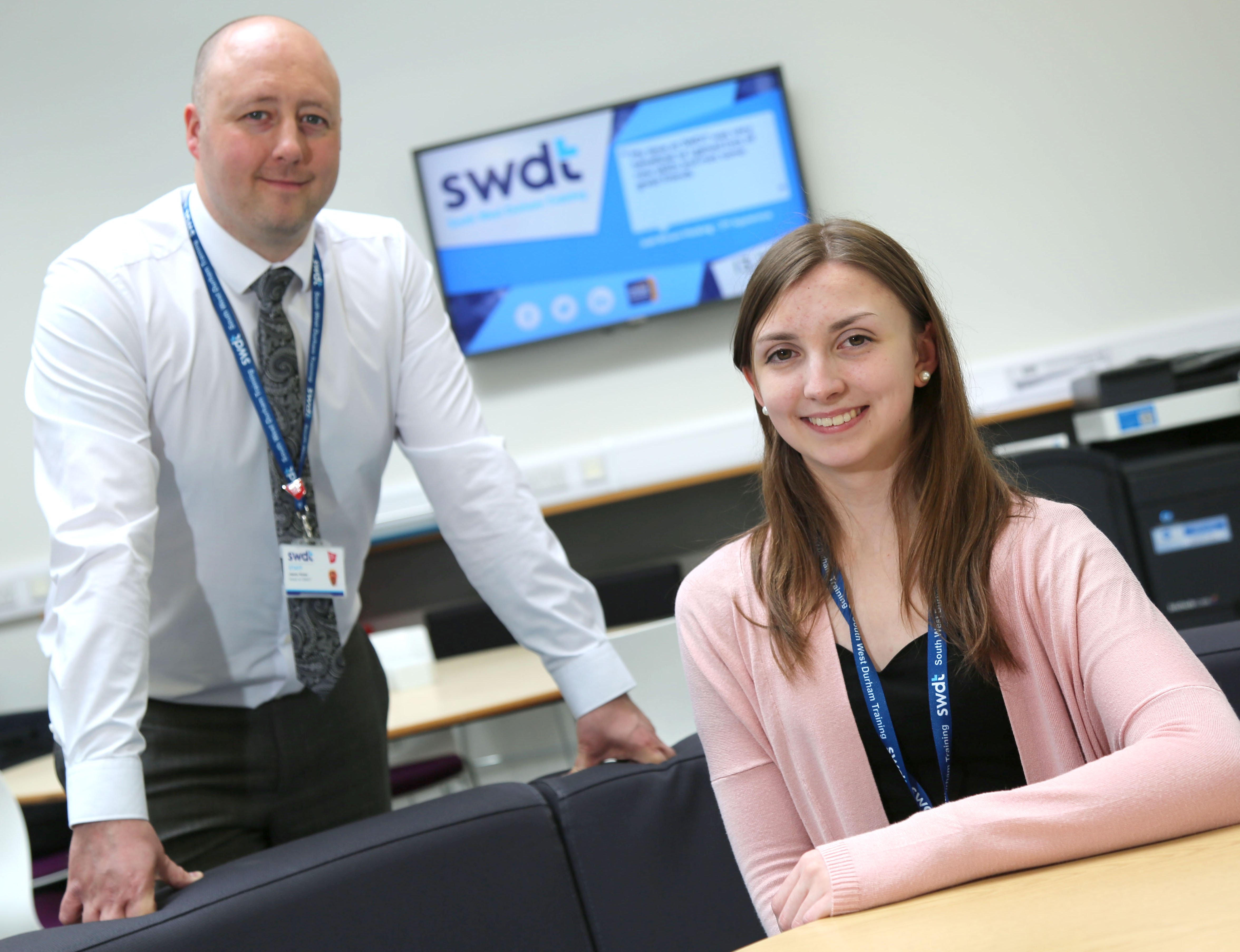 Laura Takes New Role at SWDT in her Stride
