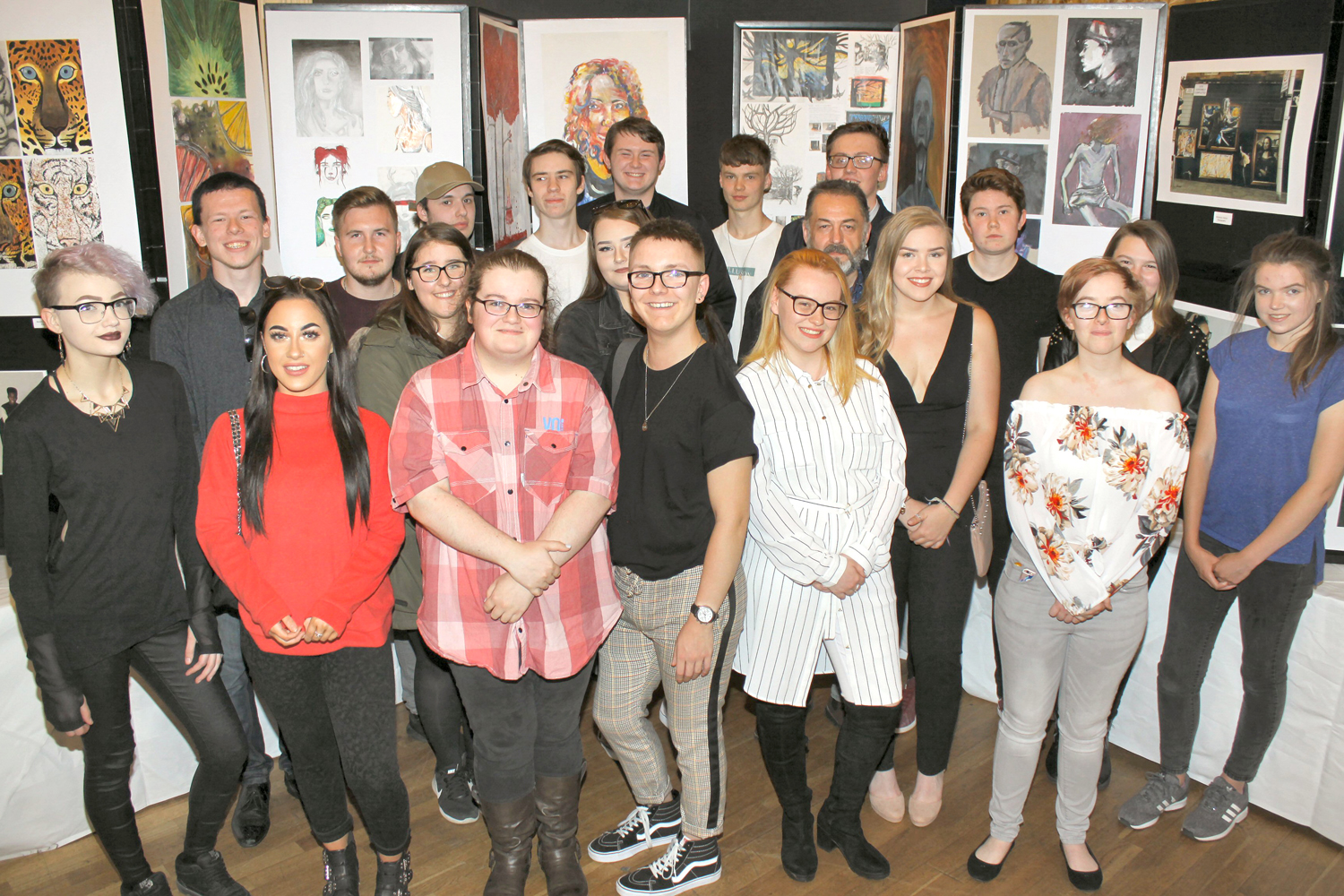 Aycliffe Student's Work Exhibited