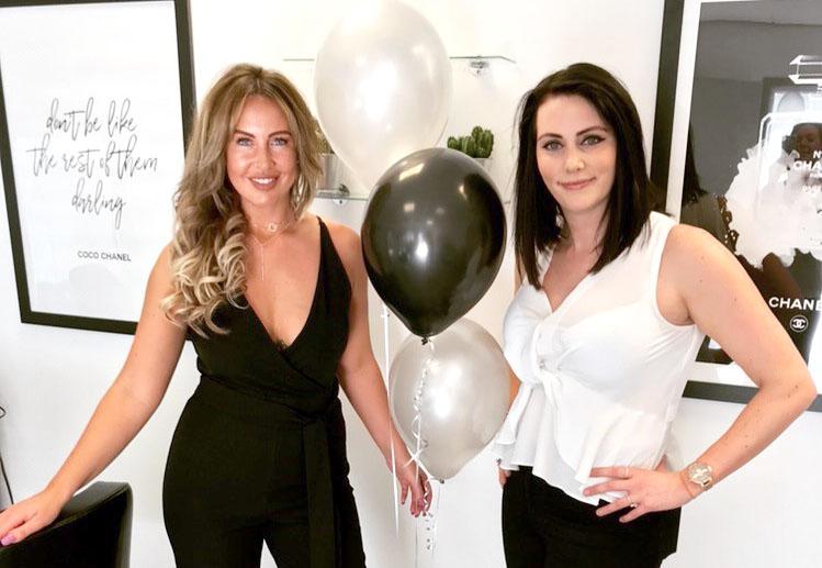 Aycliffe Girls Open New Salon