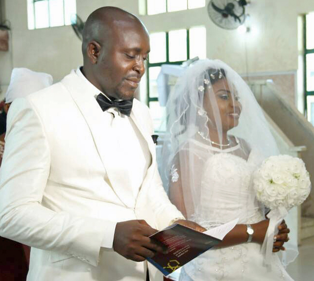 Charity Shop Bridal Gown Bought for Nigerian Wedding