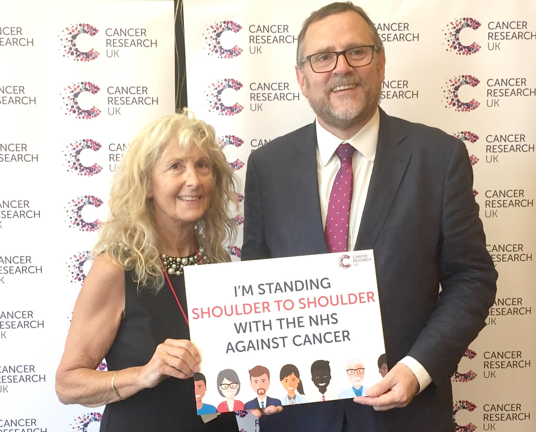 Phil Wilson Supports Cancer Research UK