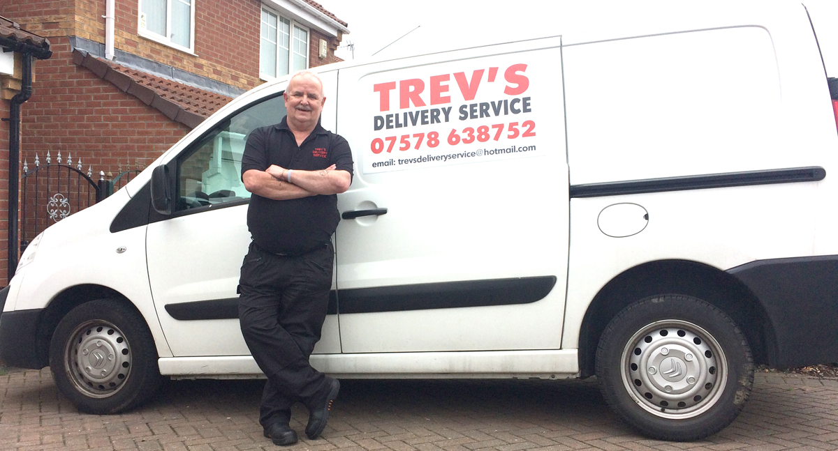 Moved to Aycliffe to Start Delivery Service