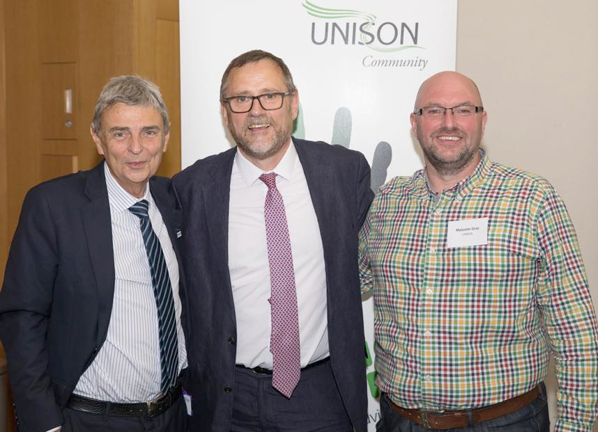 MP Supports Unison's Safety in Workplace