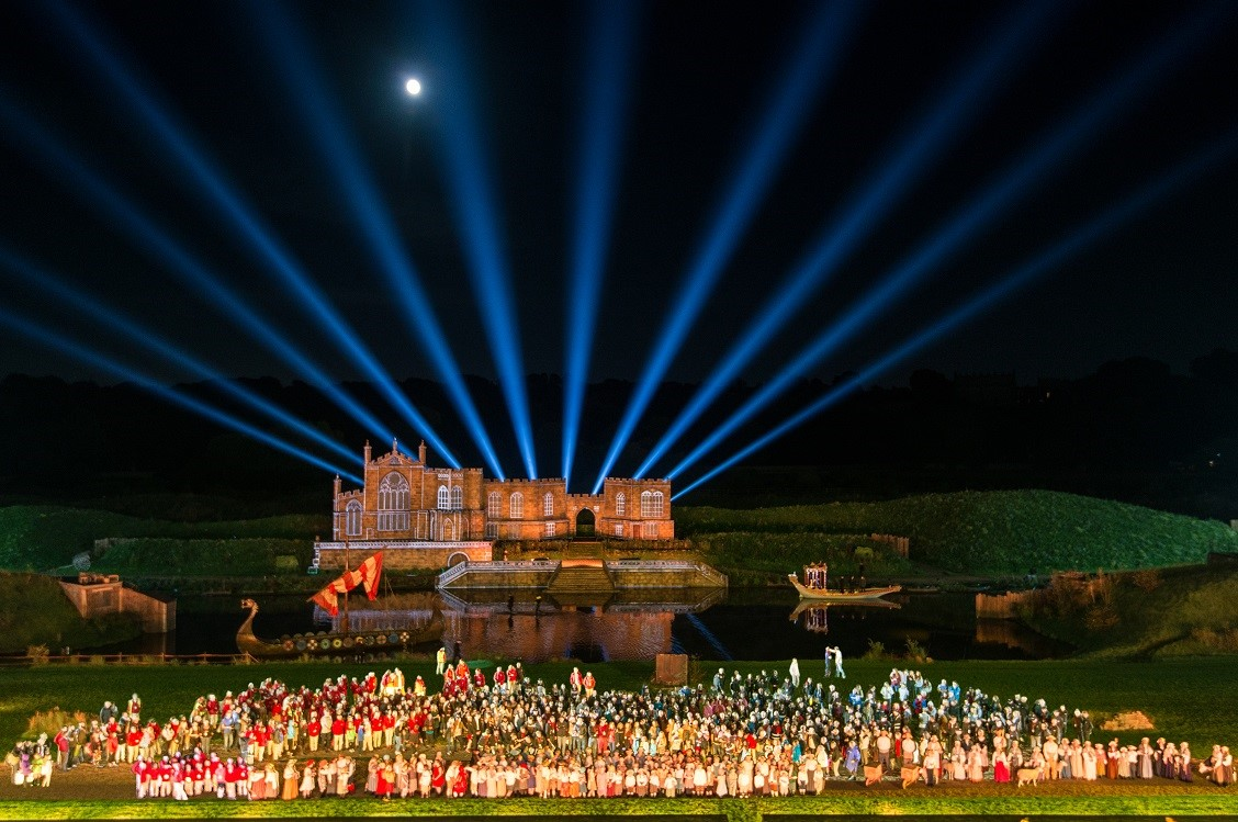 Kynren in Top 5 UK Attractions