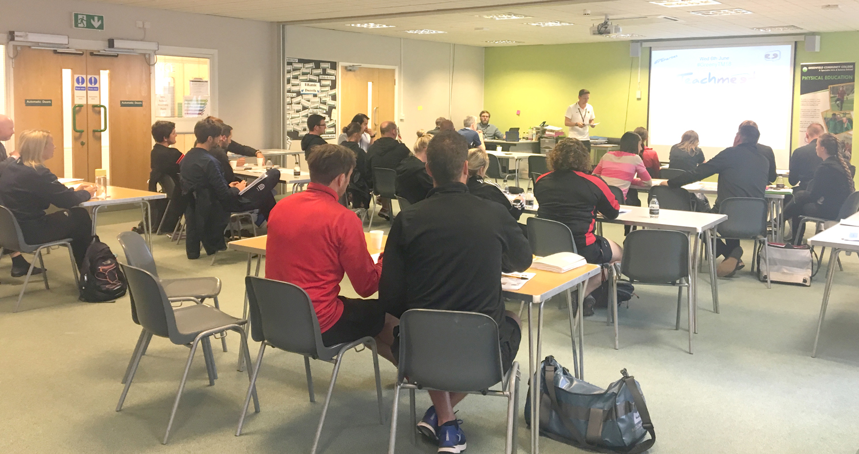 Greenfield PE Teachers Share Good Practice