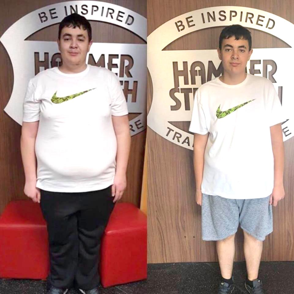 Aycliffe Gym Inspires Teenager's Life Change