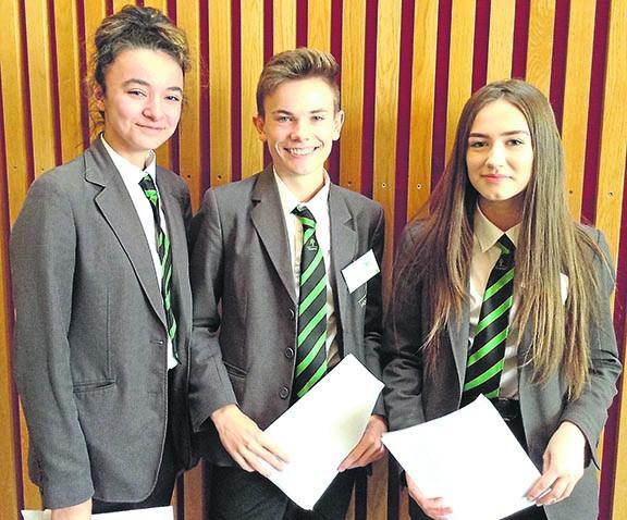 Woodham Students Enter Dragon's Den