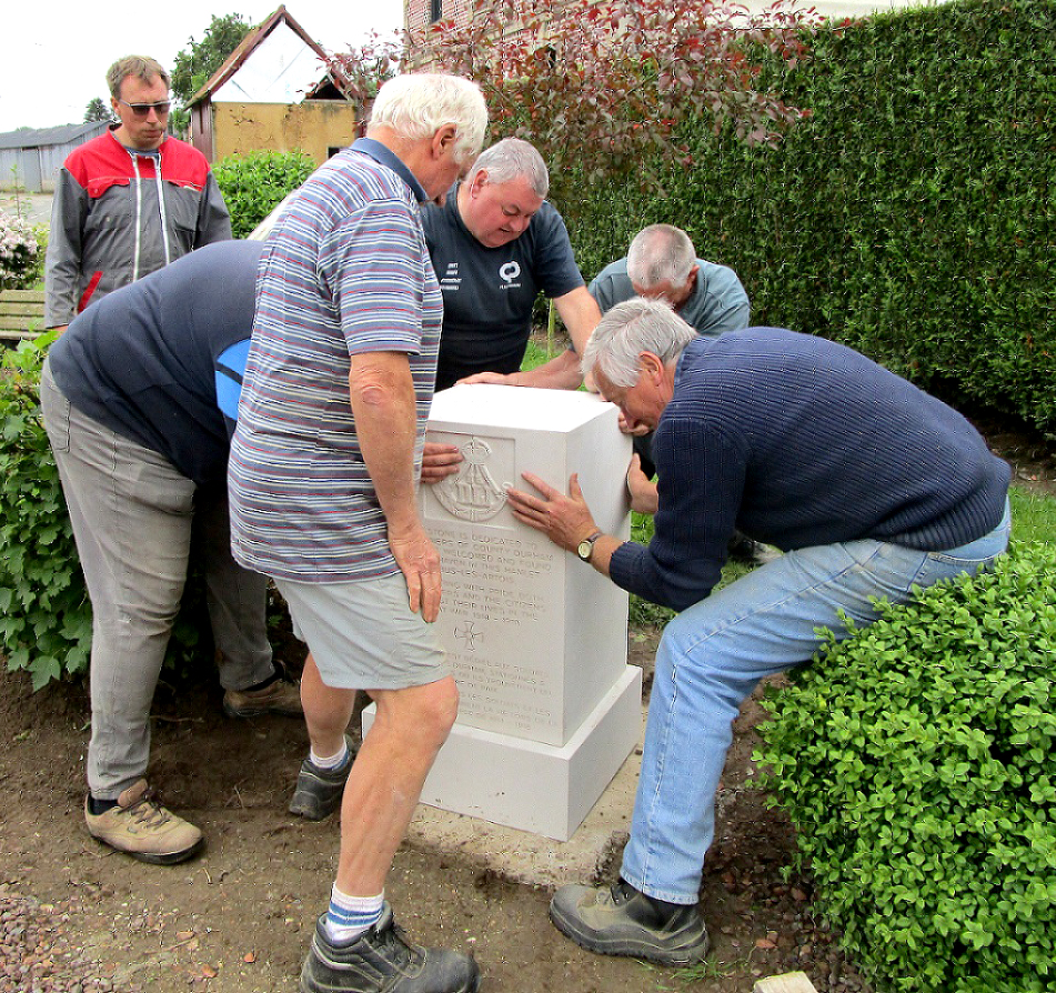 Memorial to Durham Pals Unveiled in France