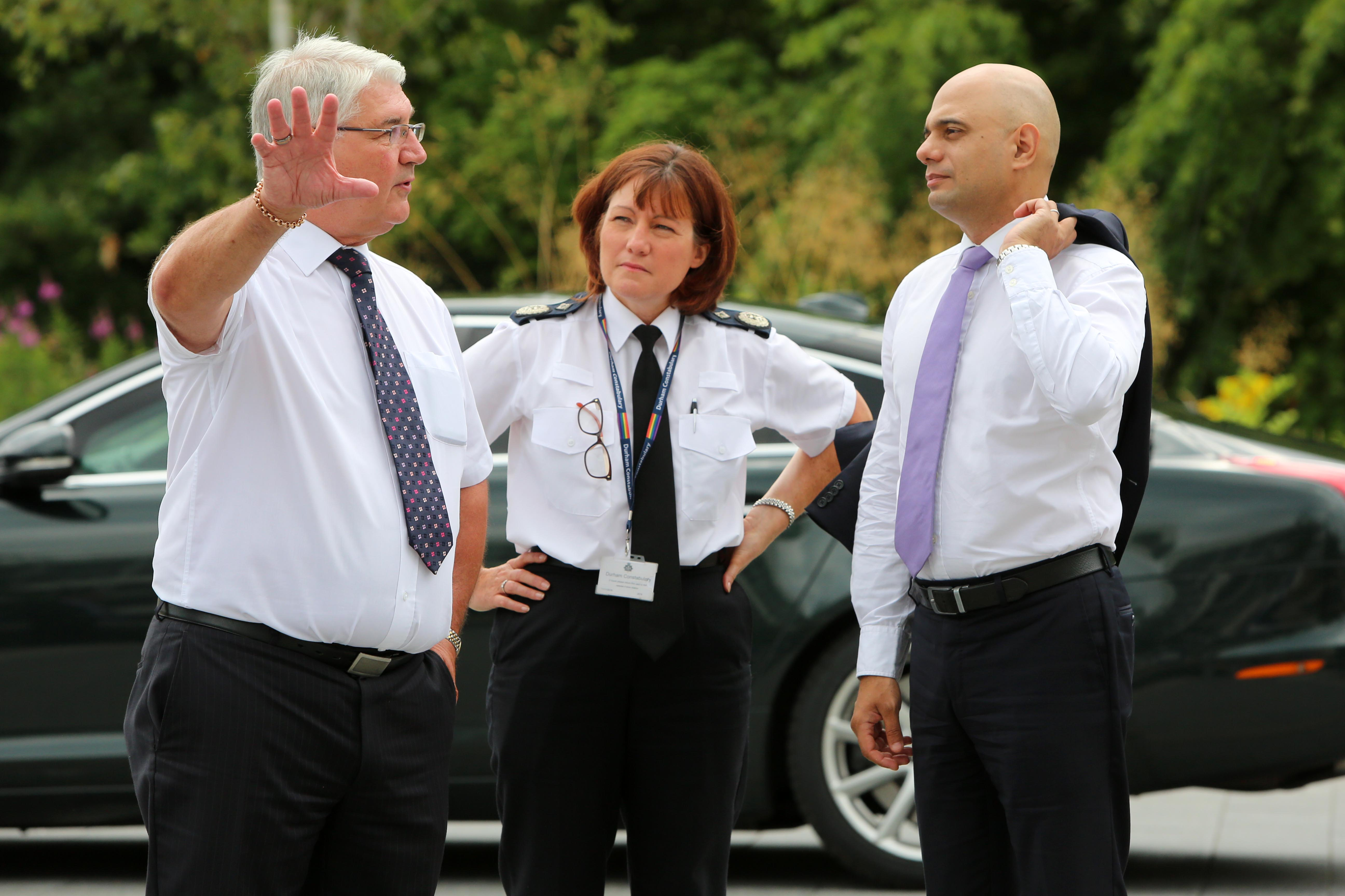 Home Secretary Visits Durham Constabulary