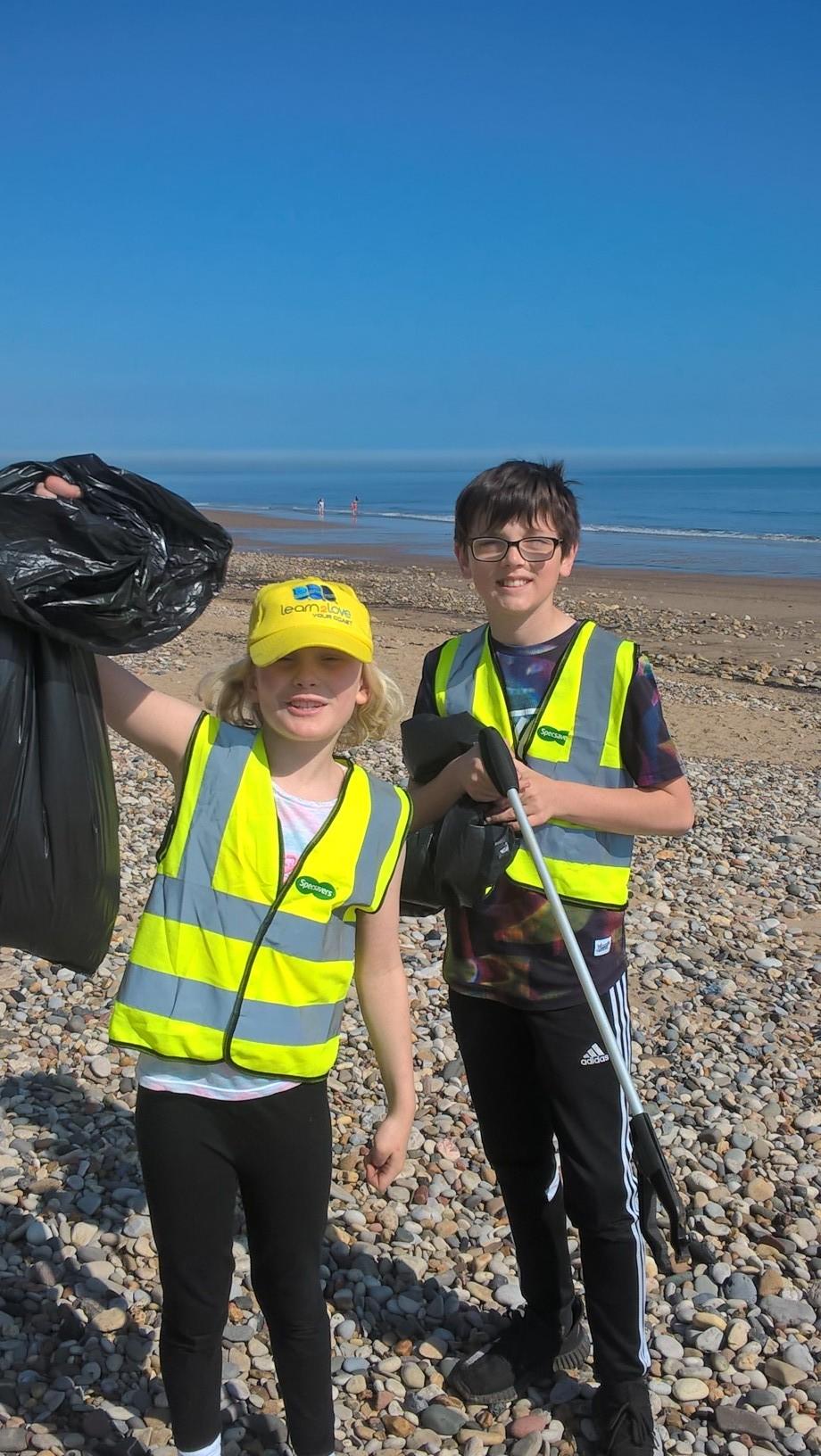 Volunteers Help Keep County's Beaches Clean