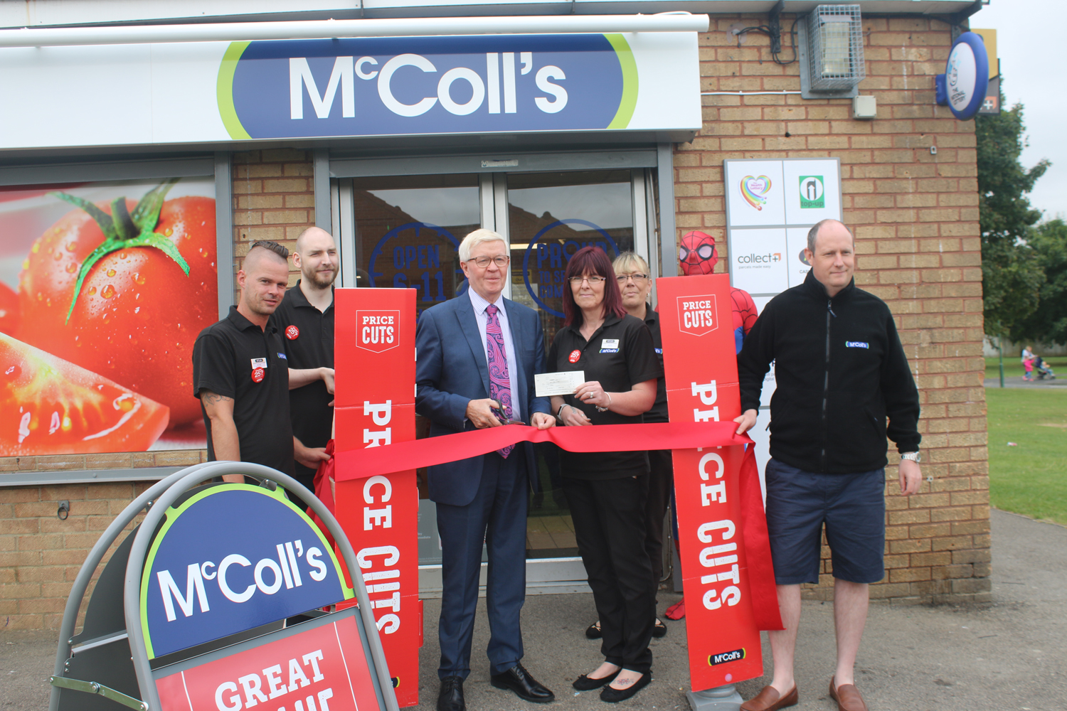 McColl's Relaunch with £500 to MRI