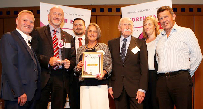 Energy Award for Warm Homes Project