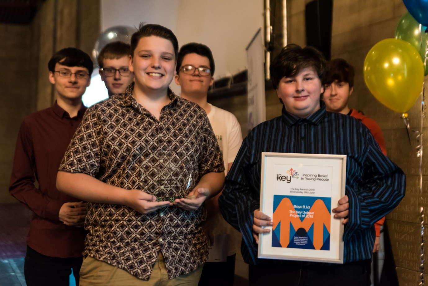 Praise for Newton Aycliffe Young People at Regional Charity Awards