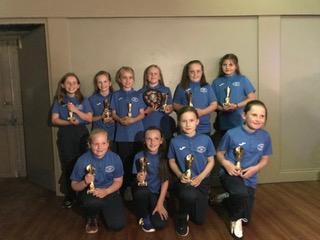 Girls Football Team League Runners Up