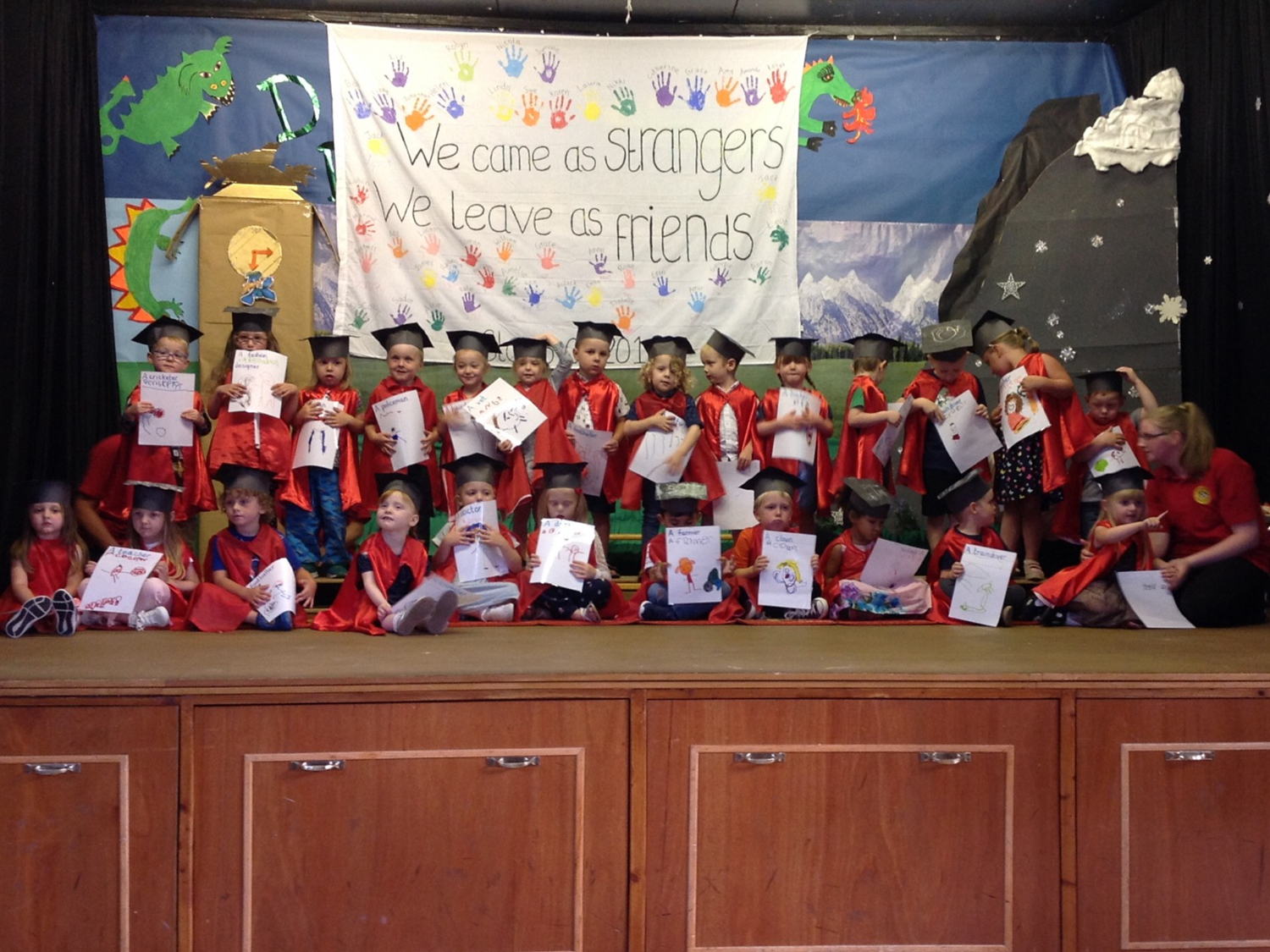 Playday Graduation