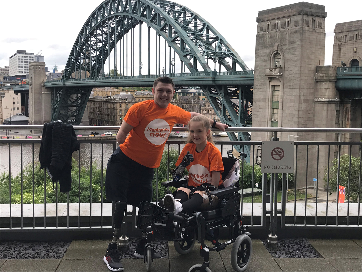 North East Meningitis Survivors Join Forces to Raise Awareness