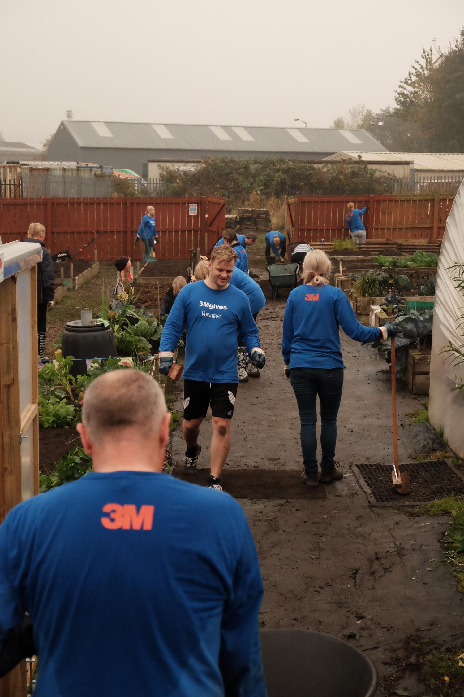 3M Volunteers Seek Community Tasks