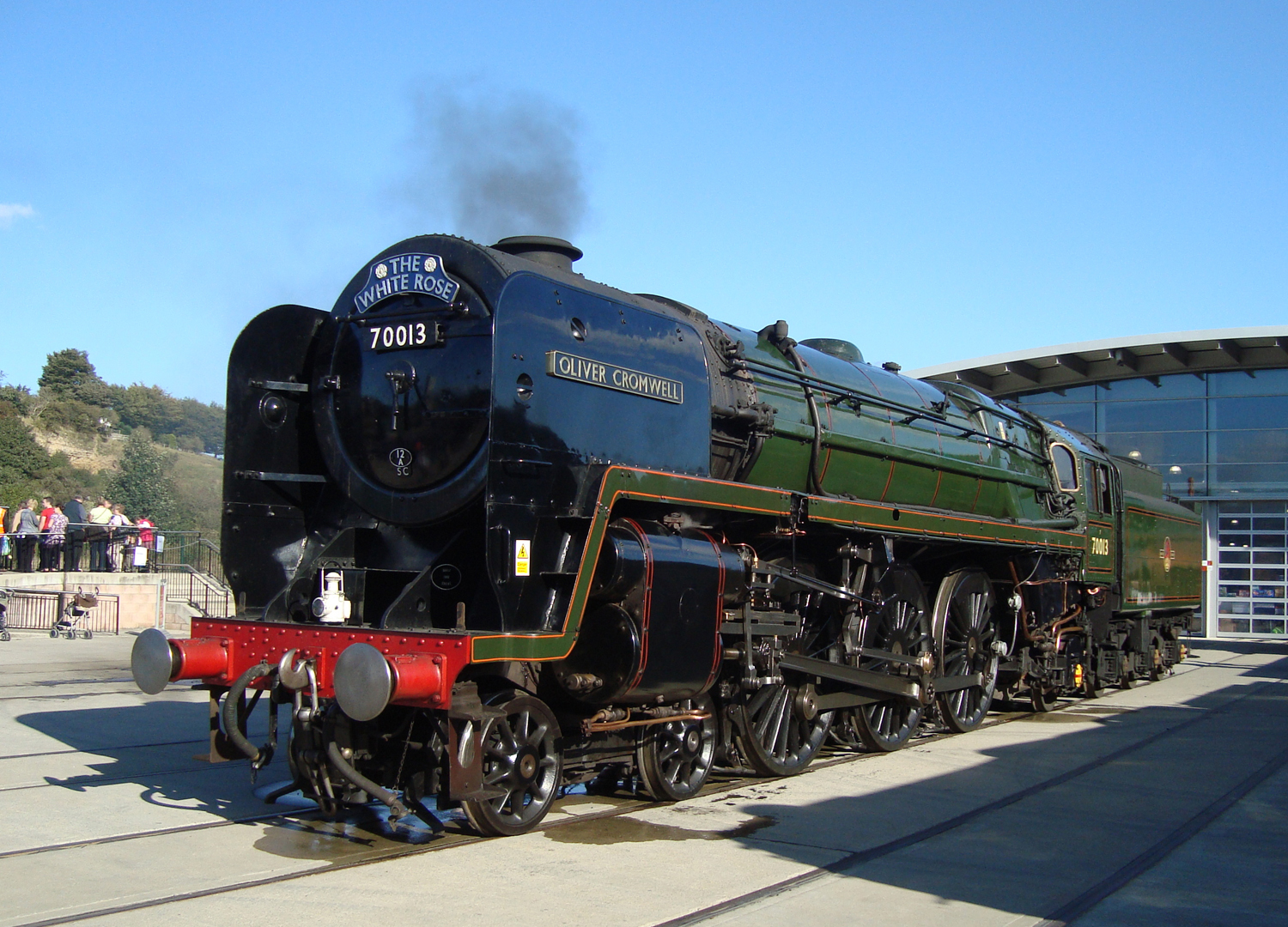 Guest Train at Locomotion