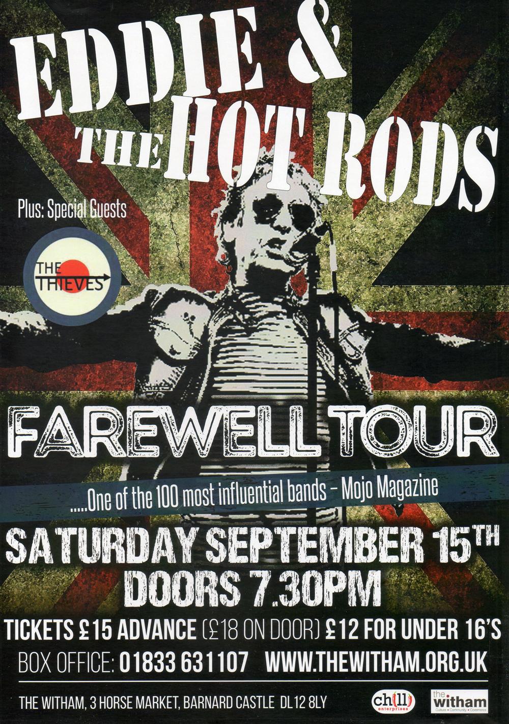 Farewell Tour for Eddie
