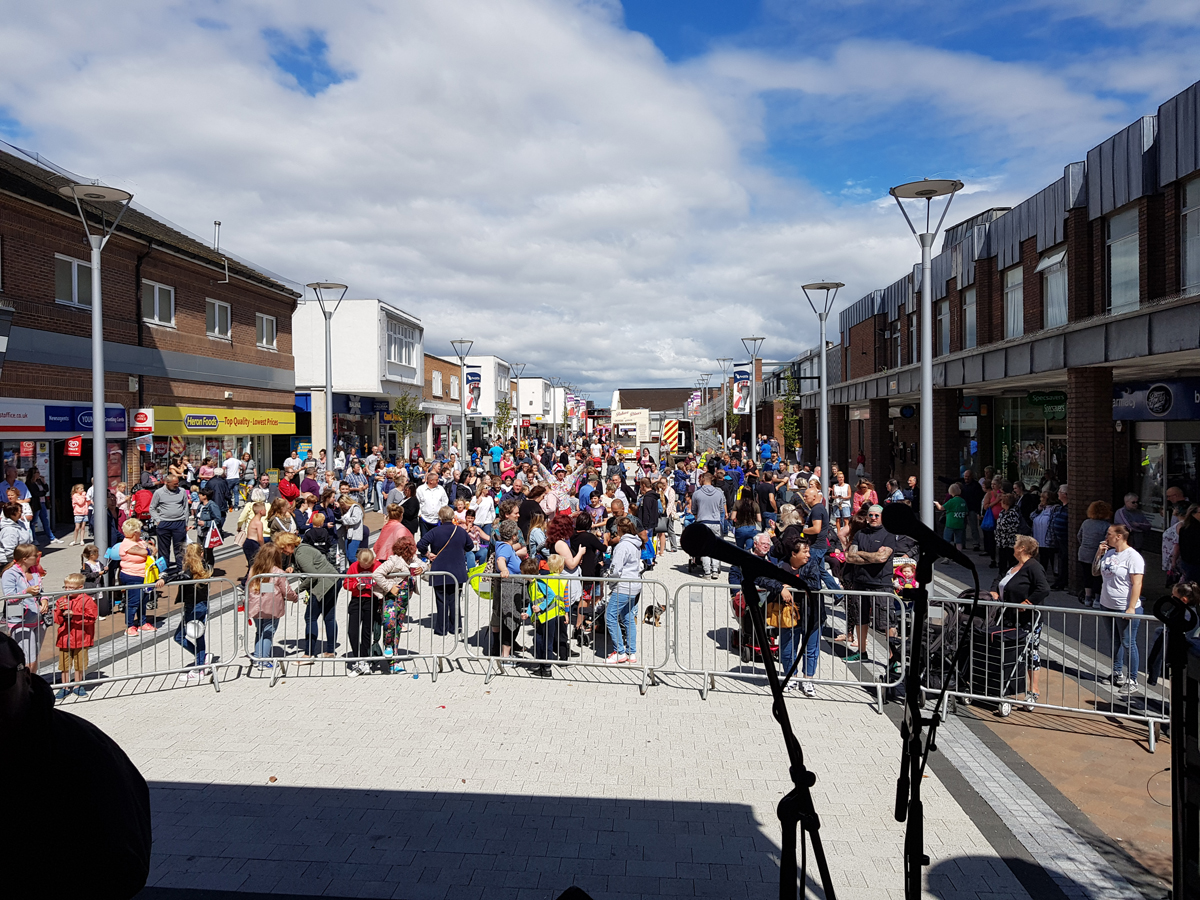 Successful First Aycliffe Radio Music Festival