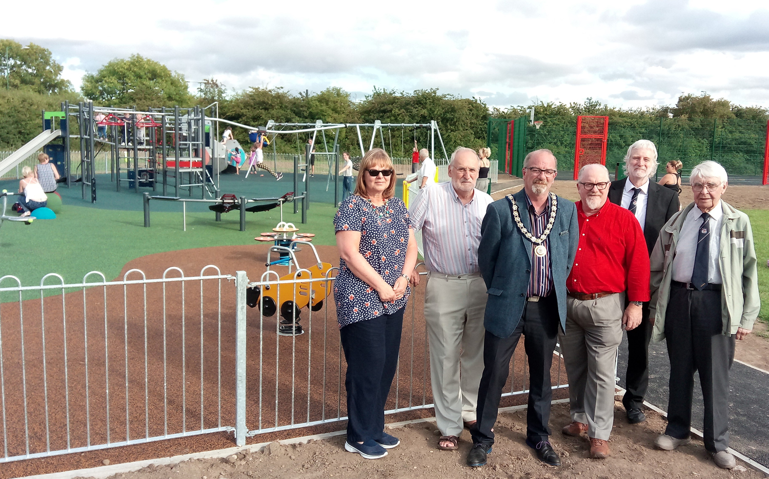 New Play Area for Cobblers Hall