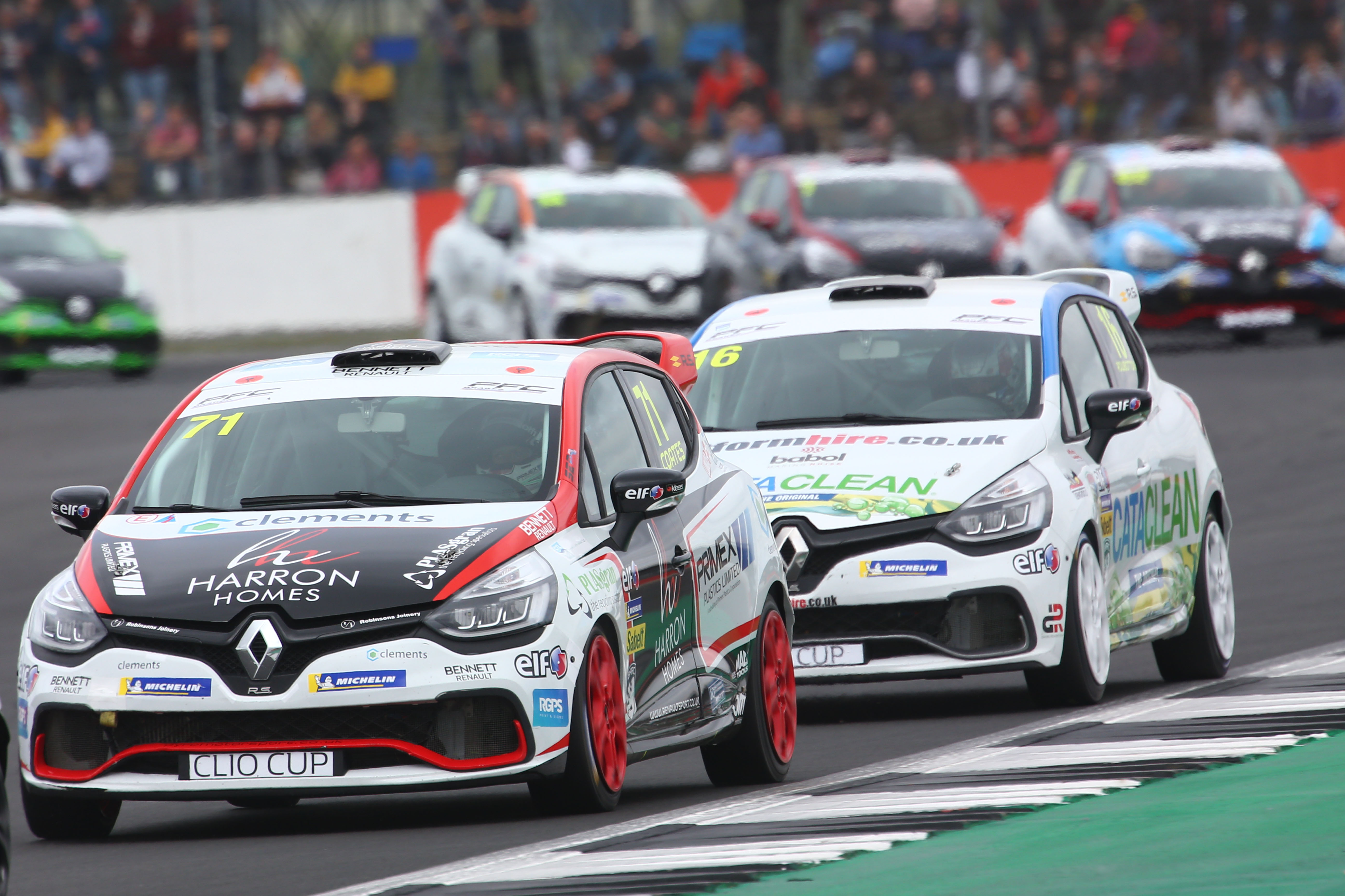 Coates Retains Title Lead at Silverstone