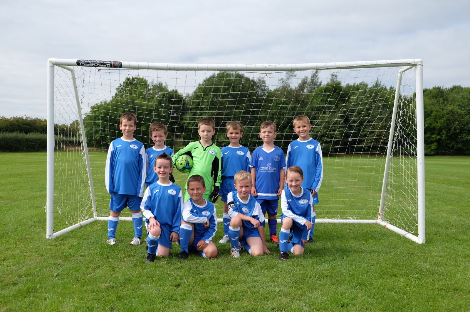 Newton Aycliffe Youth Under 8 Eagles