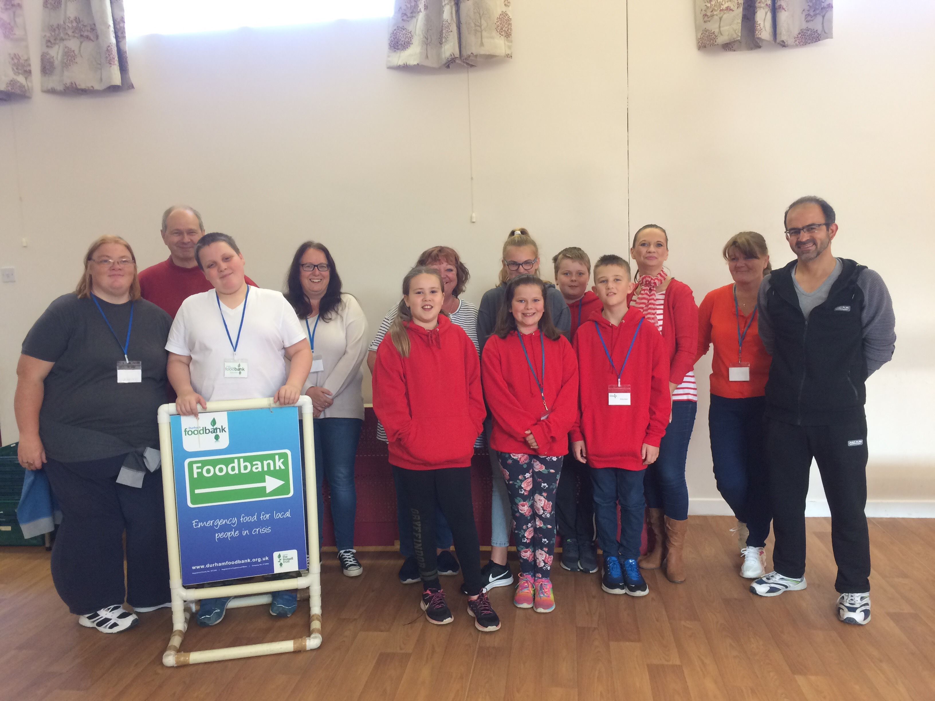 Foodbank Celebrates Sixth Year at St. Clare's