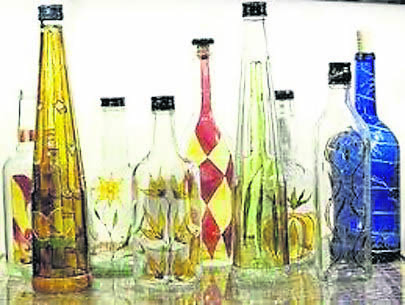 Decorative Glass Painting at Greenfield Arts