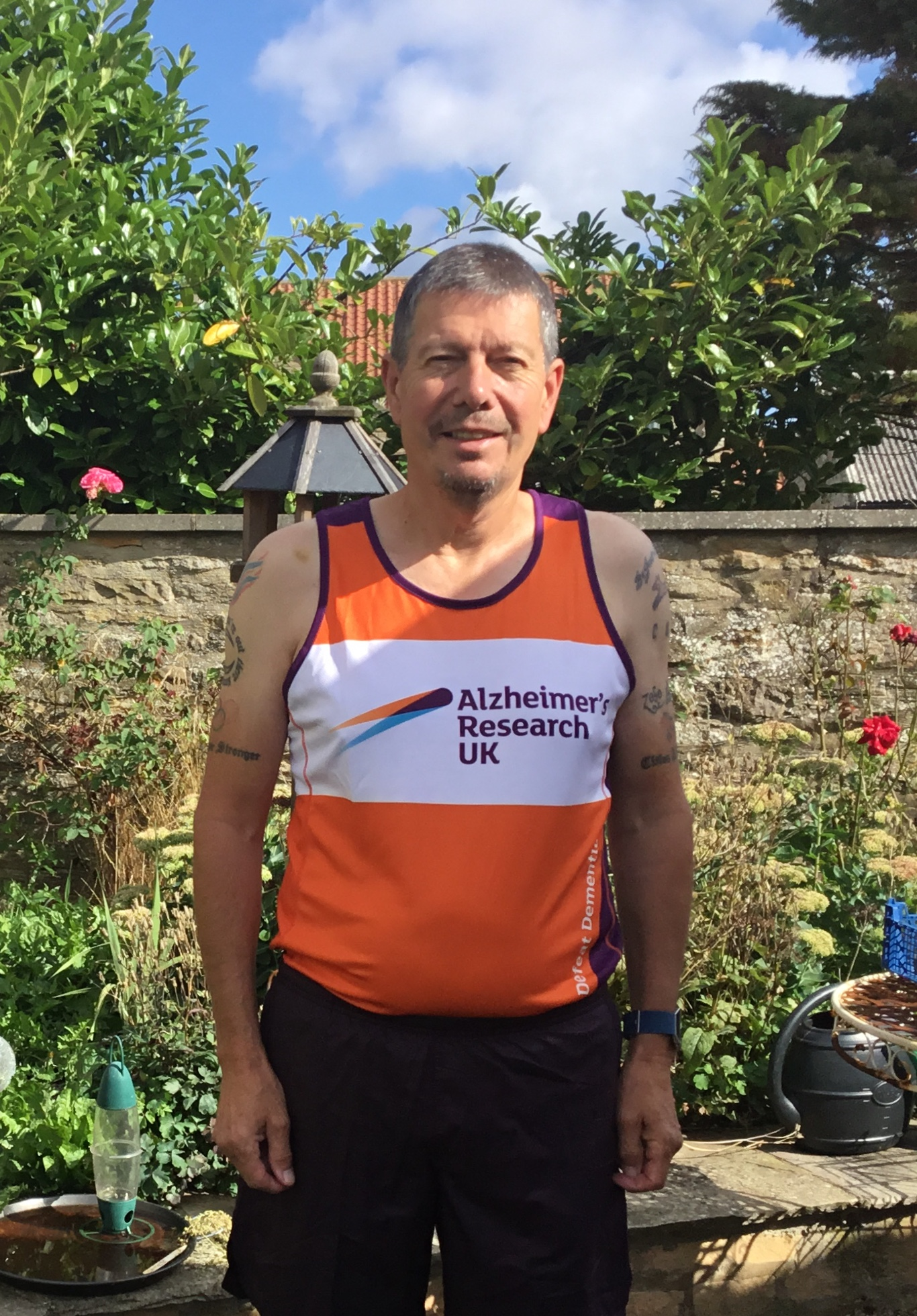 Running In Memory of Wife
