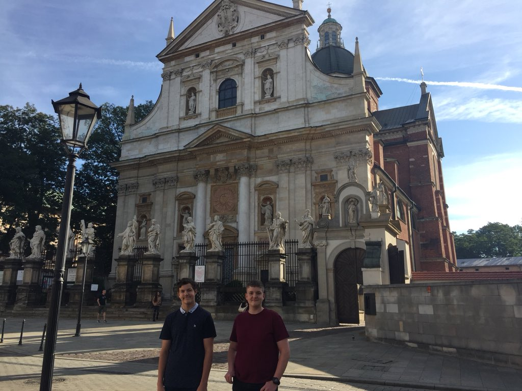 Greenfield Students Visit Historical Krakow