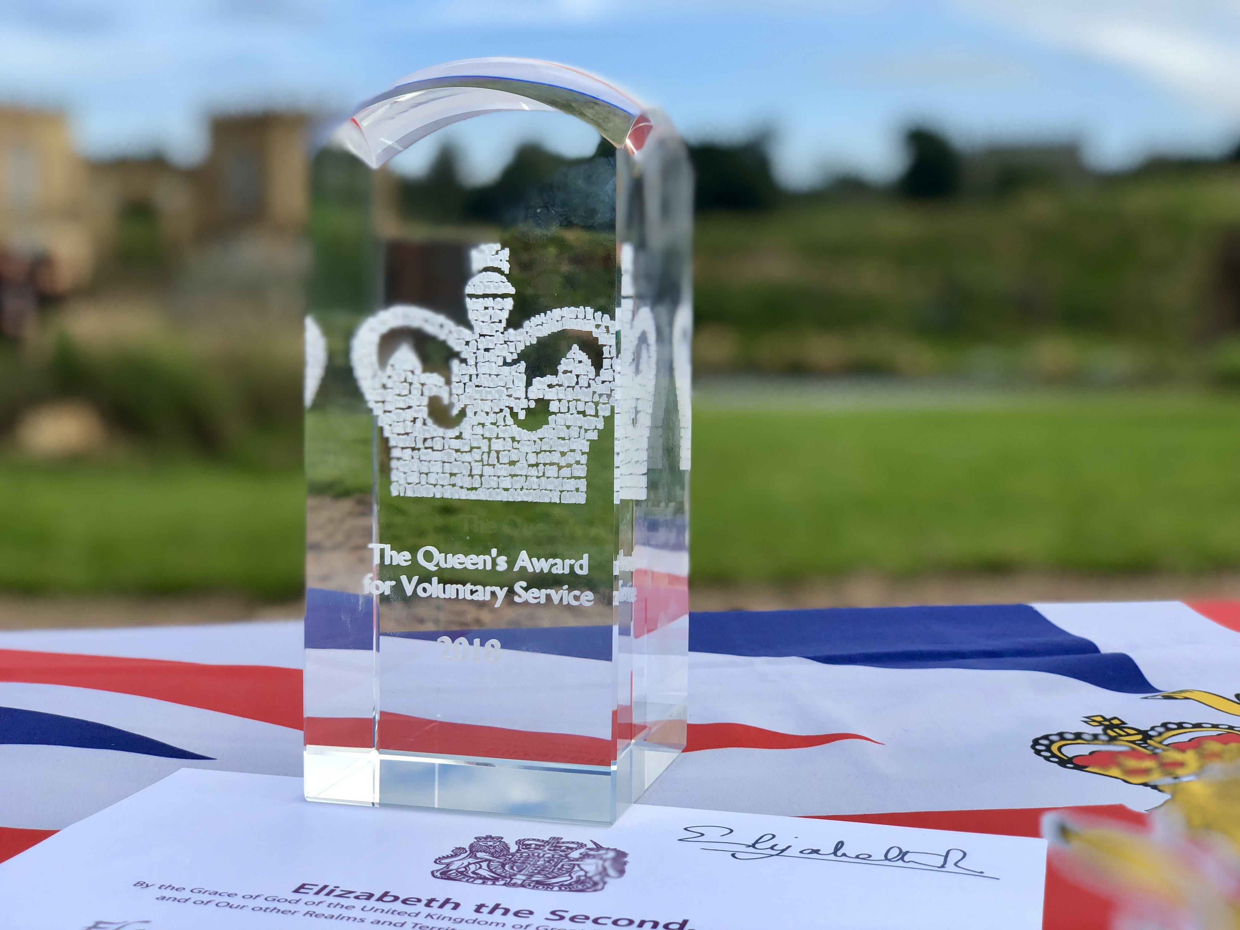 Kynren Cast & Crew Presented With Prestigious Queen's Award