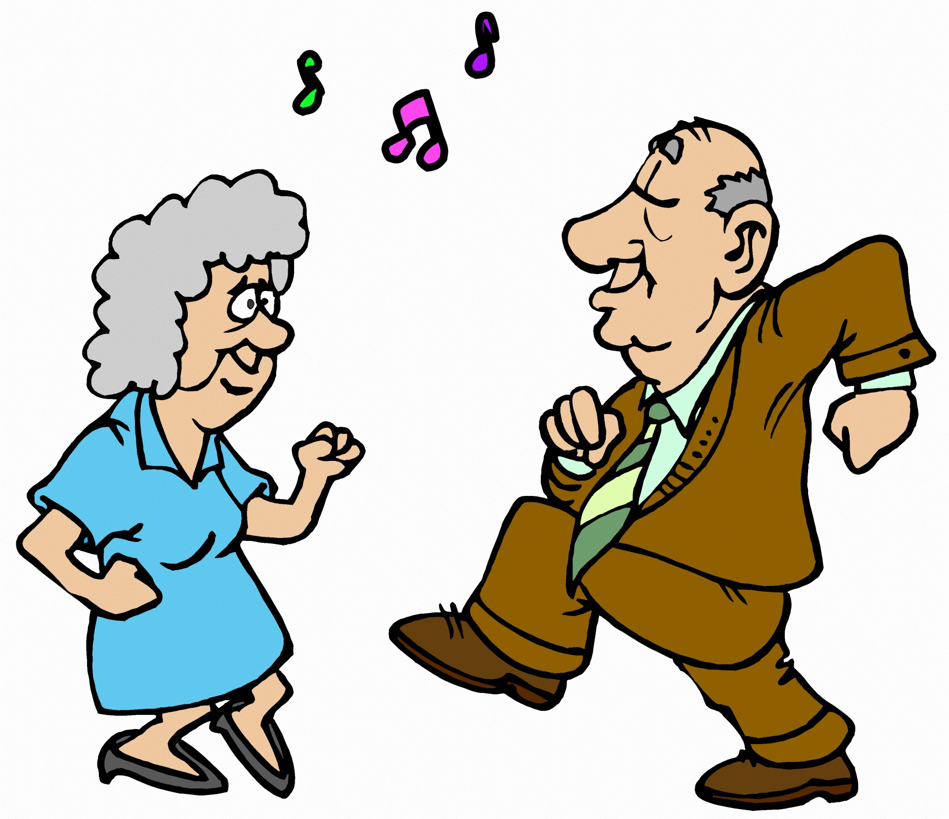 Over 65's 'Falling on Your Feet' Dance Classes