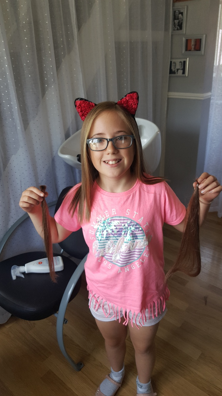 Ruby's Hair Cut for Little Princess Trust
