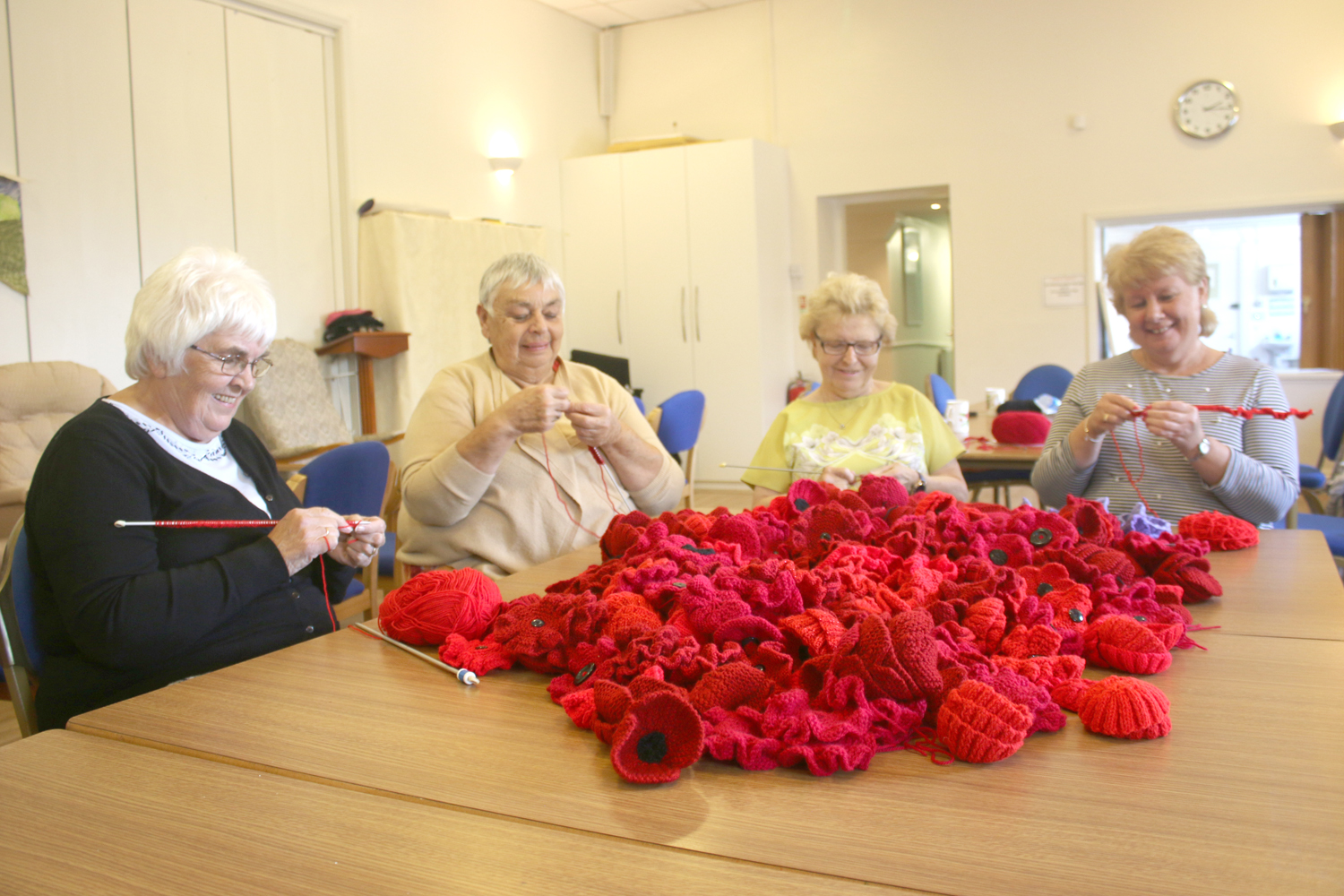Poppies for Armistice Day