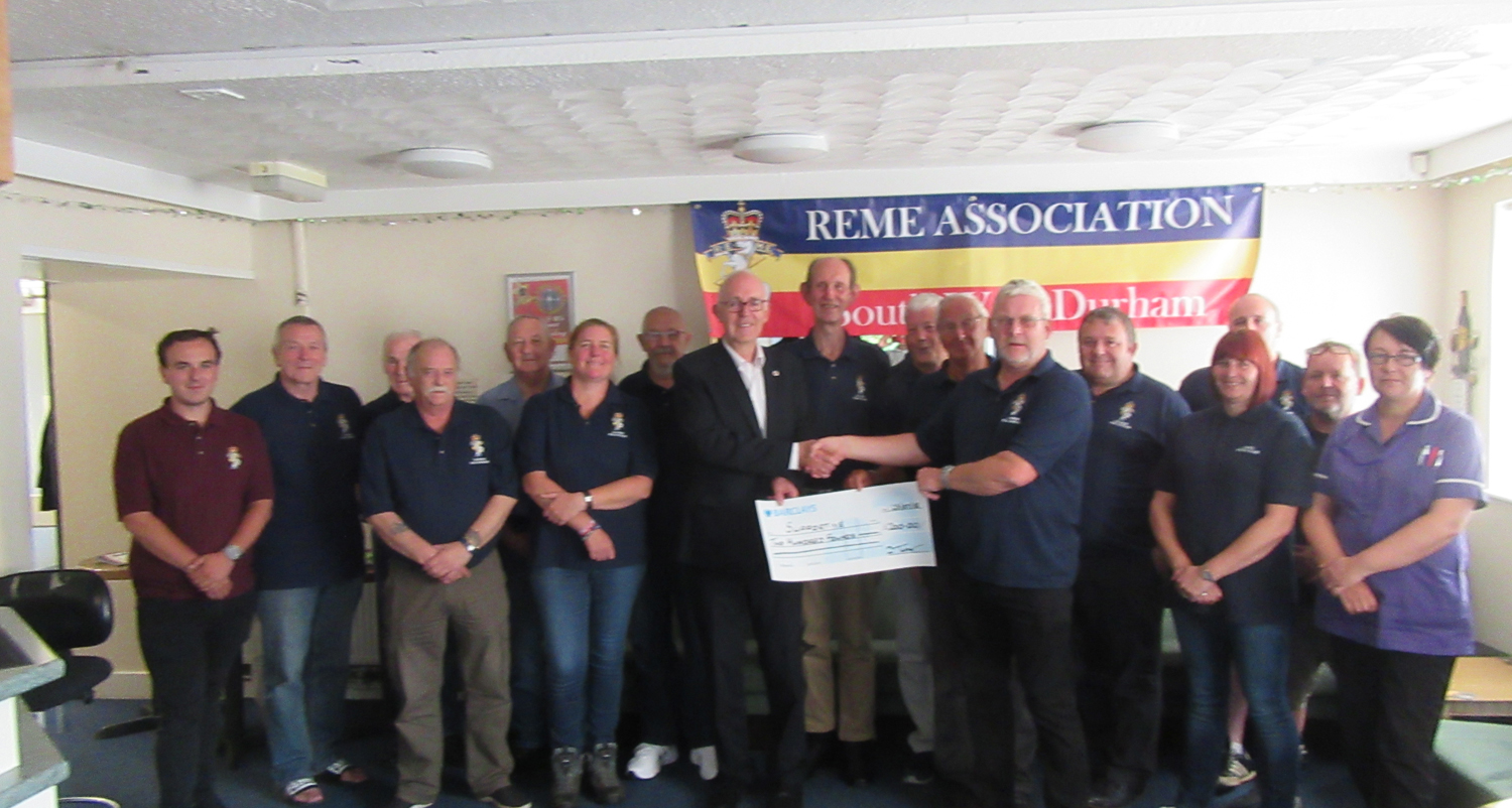 SWD REME Association Donate To Supportive Charity