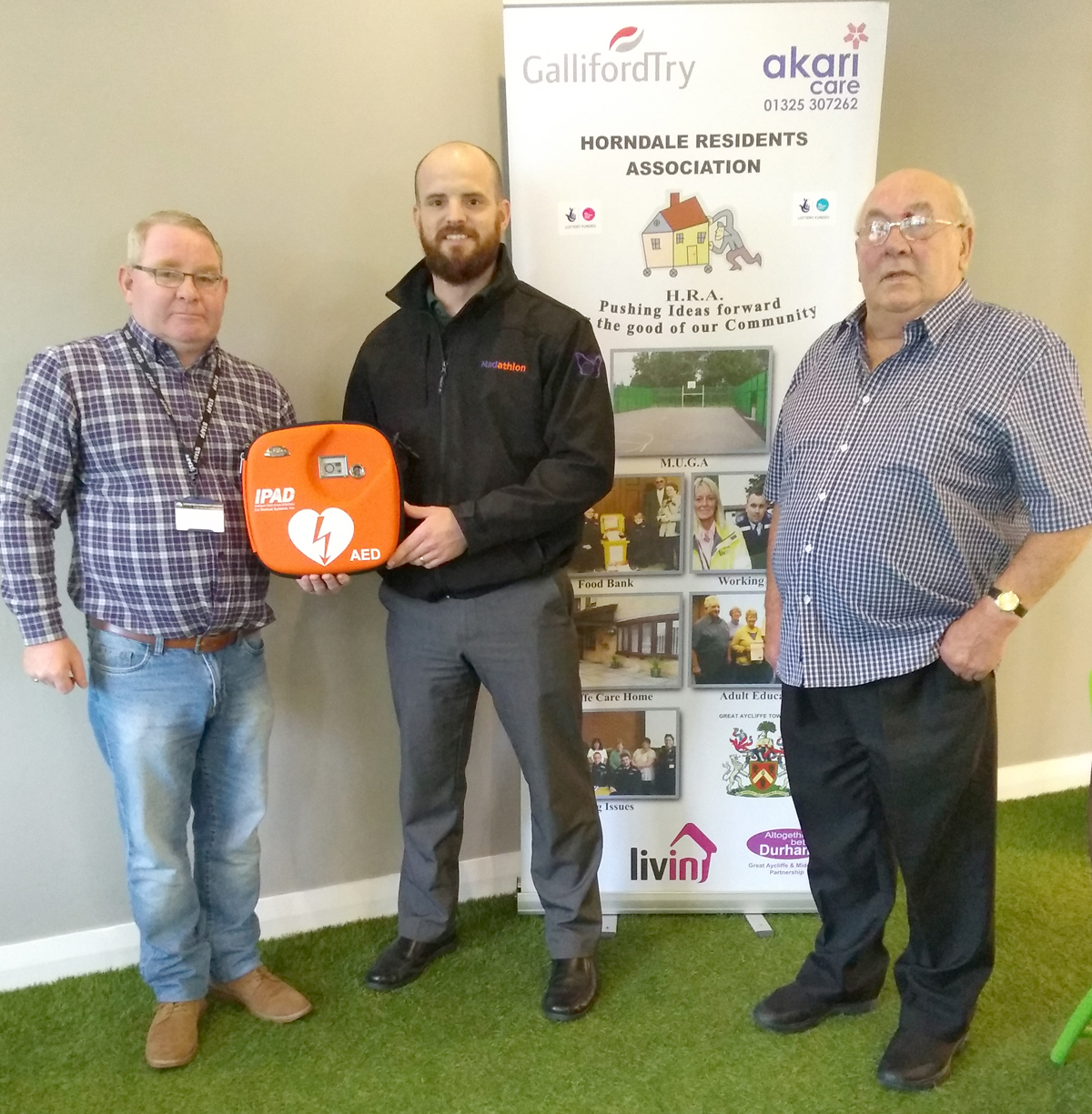 Madathon Donate Defibrillator