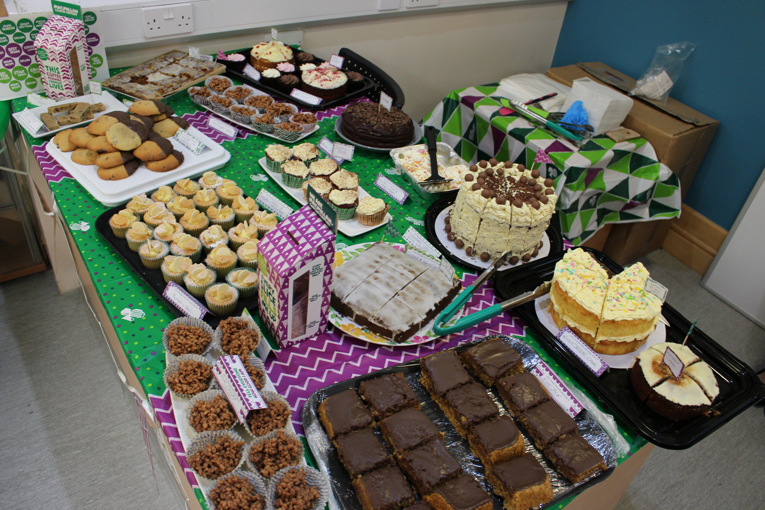 Macmillan Coffee Morning Success