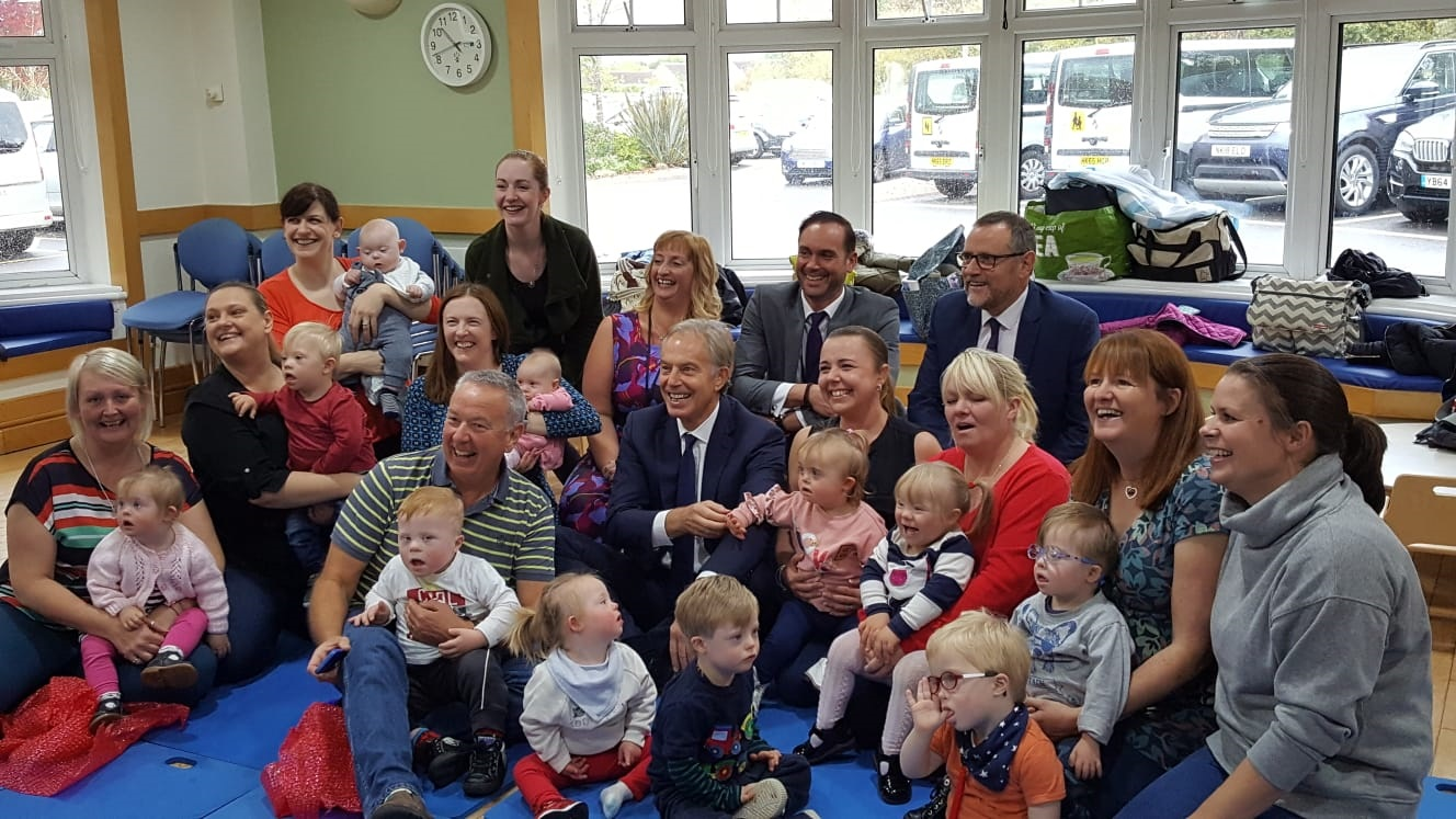 PCP Welcomes Tony Blair to the Centre after 20 Years