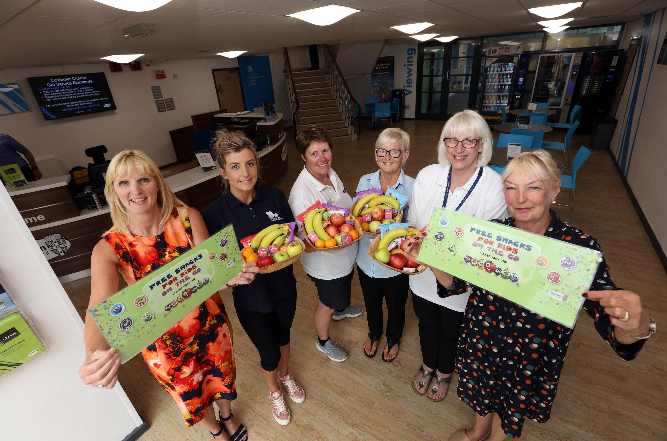 Free Half-Term Snacks for Children at Leisure Centres